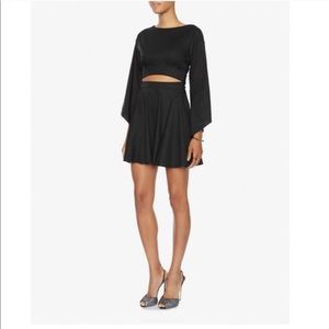 • Intermix • Cut Out Bell Sleeve Mid Riff Dress P